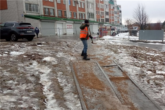 Город Чебоксары готовится ко второй волне ледяного дождя