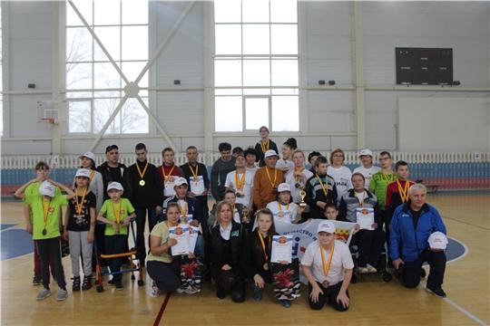 В городе Канаш состоялся открытый турнир по паралимпийскому виду спорта - бочча