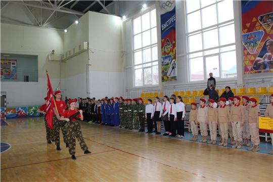 Город Канаш стал местом проведения республиканского фестиваля ЮНАРМИИ «Кто в ГТО?»