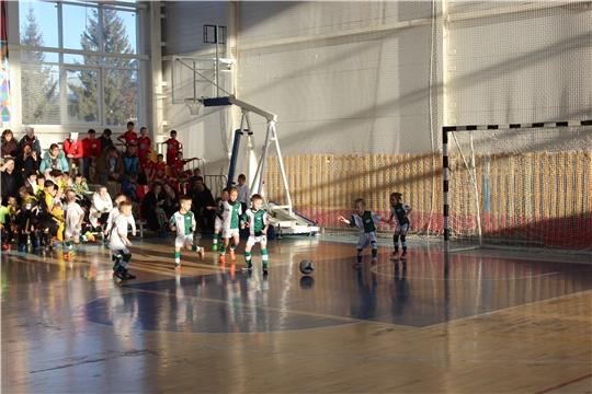 Детский турнир на призы развлекательного центра «Стрекоза» продолжил программу проведения в городе Канаш соревнований по мини-футболу