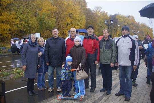 МЧС Чувашии на Всероссийском дне ходьбы