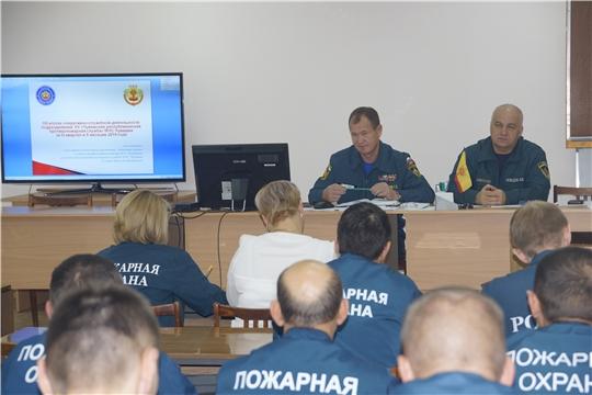 Пожарные МЧС Чувашии подвели итоги своей работы за III квартал и 9 месяцев этого года