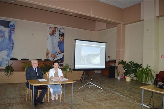 МЧС Чувашии провел учебно-методическое занятие с работниками Новочебоксарской городской больницы