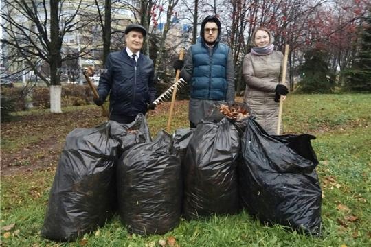 Коллектив Инспекции вышел на экологическое мероприятие