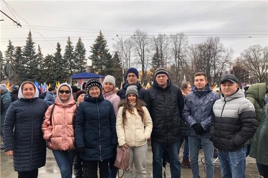 Команда Инспекции на митинг-концерте Дня народного единства