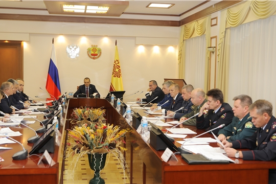 Заседание Антинаркотической комиссии в Чувашской Республике