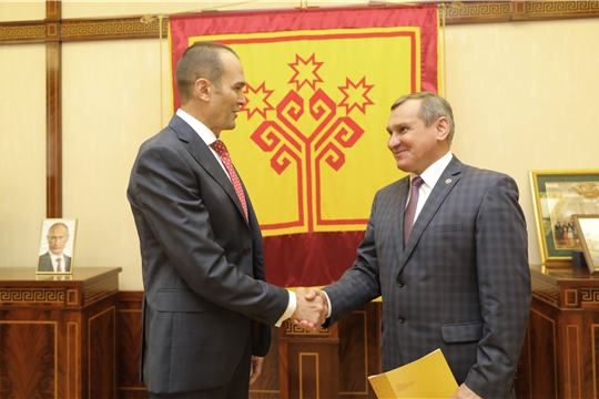 Встреча с ректором ЧГПУ им. И.Я. Яковлева
