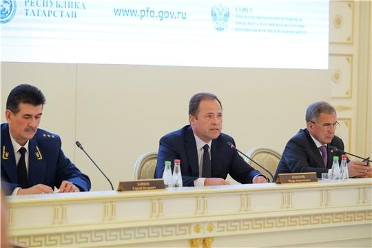 Заседание Совета при полномочном представителе Президента РФ в ПФО
