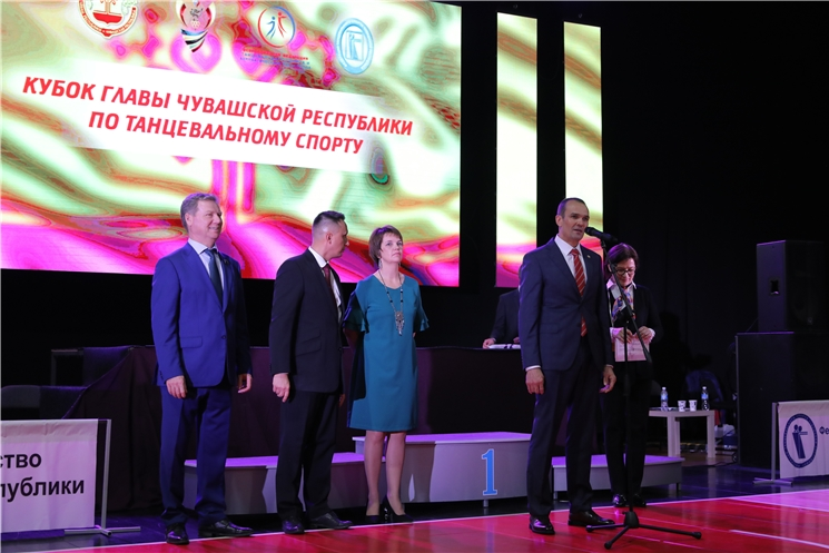 Михаил Игнатьев в Чебоксарах открыл соревнования по танцевальному спорту