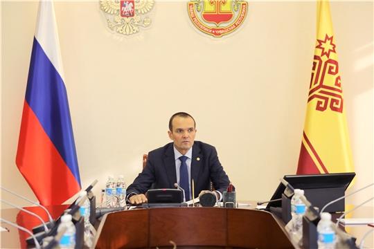 Заседание рабочей группы по подготовке комплекса мер по ускоренному социально-экономическому развитию Чувашской Республики