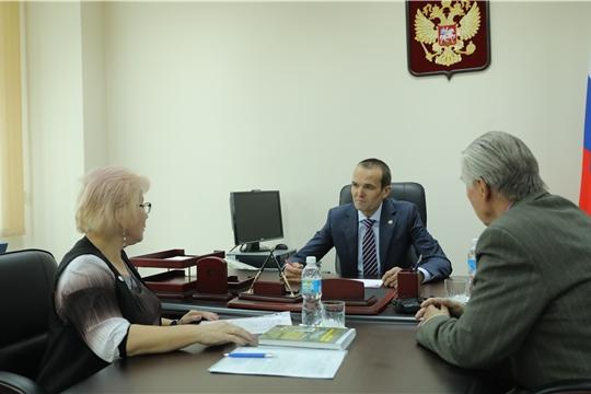 Прием граждан Главой Чувашии Михаилом Игнатьевым