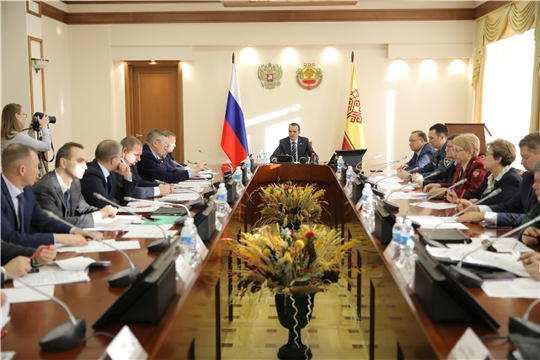 Заседание Комиссии по предупреждению и ликвидации чрезвычайных ситуаций и обеспечению пожарной безопасности в республике