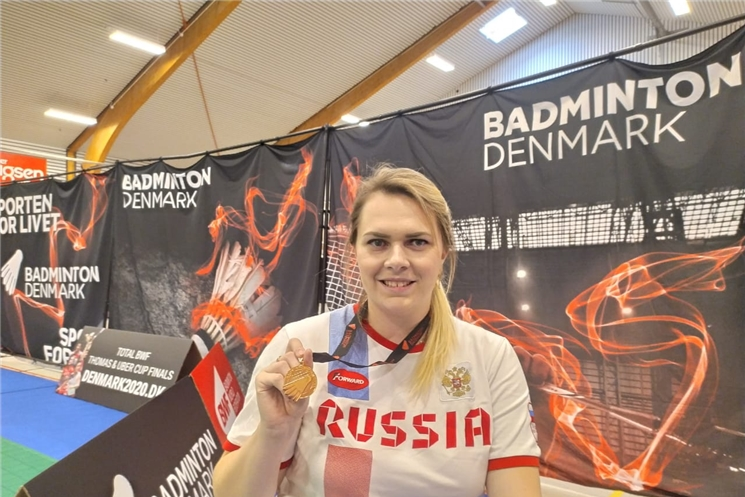 Парабадминтонистка из Чувашии Татьяна Гуреева завоевала две бронзовые медали на международных соревнованиях в Дании