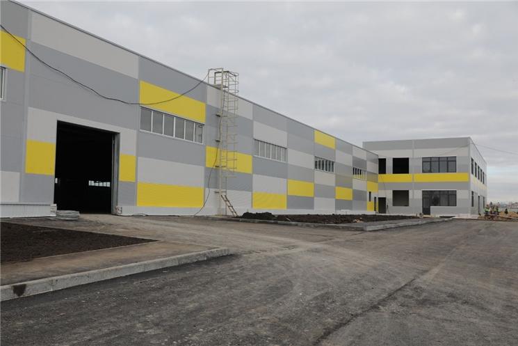 В ТОСЭР «Канаш» первым вводится в эксплуатацию предприятие по производству холодильного оборудования