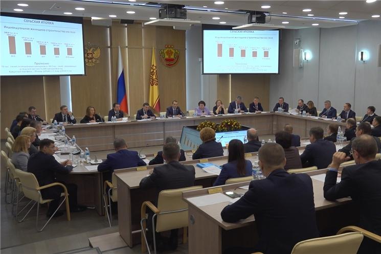В Доме правительства обсудили реализацию приоритетных программ в Чувашской Республике