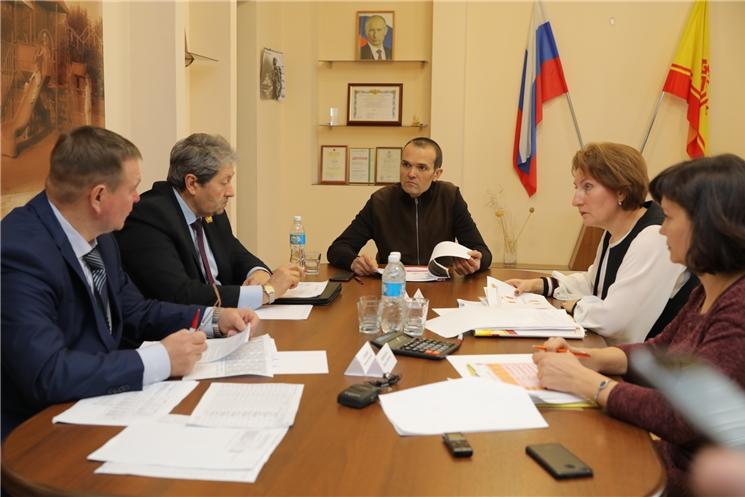 Глава Чувашии Михаил Игнатьев провел совещание с руководством города Алатыря по вопросам формирования местного бюджета