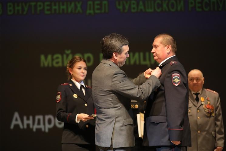 Состоялось торжественное собрание, посвященное празднованию Дня сотрудника органов внутренних дел Российской Федерации