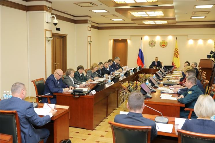 Состоялось заседание Комиссии по противодействию незаконному обороту промышленной продукции в Чувашской Республике