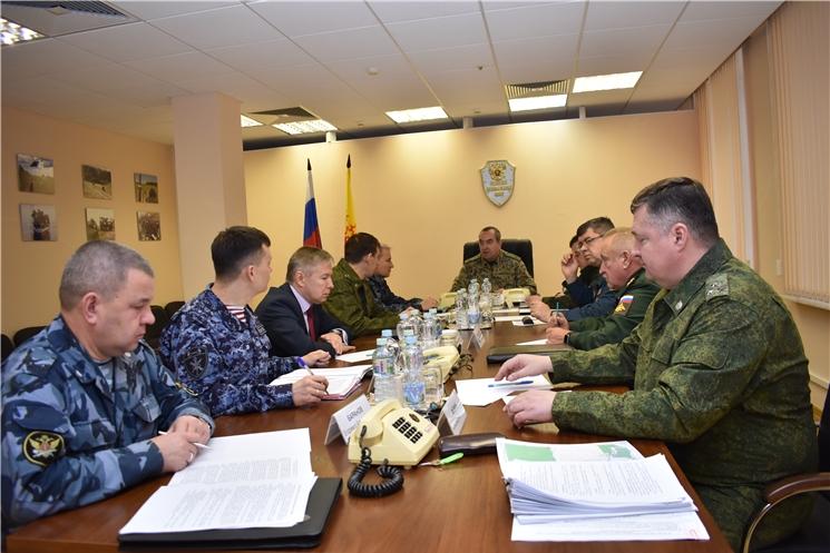 В ходе командно-штабного учения отработаны мероприятия по пресечению теракта