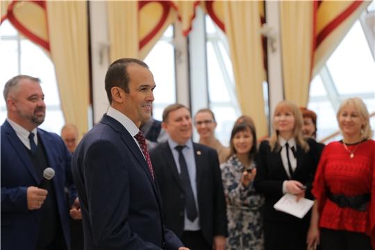 Встреча с представителями средств массовой информации Чувашской Республики
