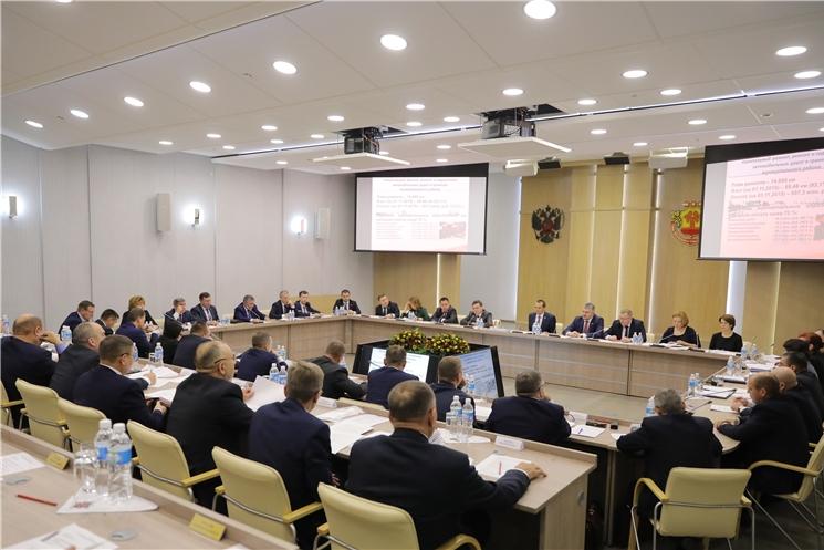 Совещание с главами администраций муниципальных районов и городских округов