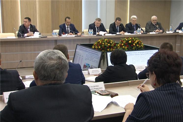 Состоялся круглый стол по вопросам качества городской среды и создания условий для ее улучшения в Чувашской Республике