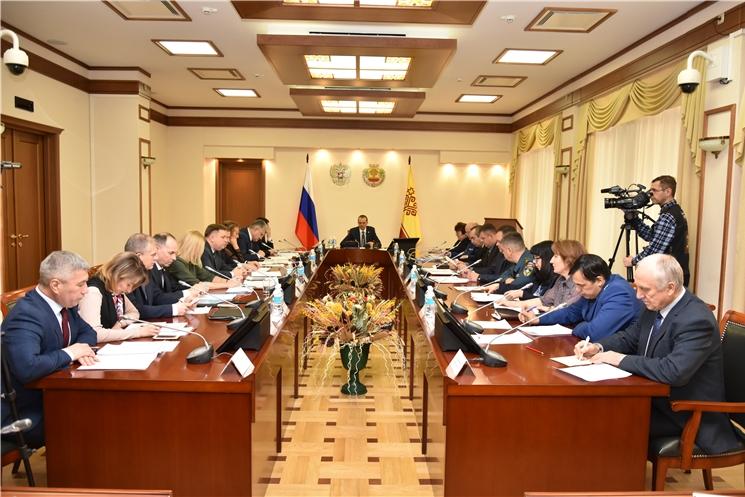 Состоялось заседание Комиссии по координации работы по противодействию коррупции в Чувашской Республике