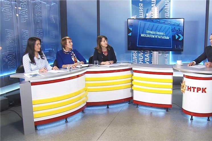 Глава Чувашии Михаил Игнатьев отвечал на вопросы жителей в прямом эфире «Национального радио» и «Таван радио»