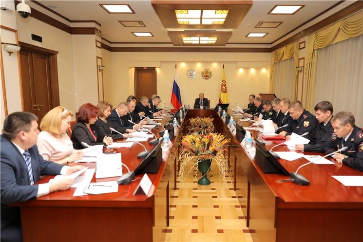 Состоялось внеочередное заседание антинаркотической комиссии в Чувашской Республике