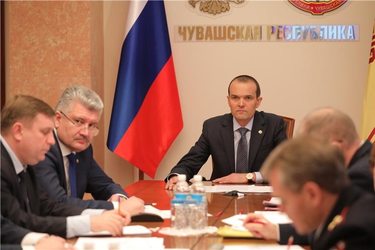 Глава Чувашии Михаил Игнатьев принял участие в заседании Государственного антинаркотического комитета
