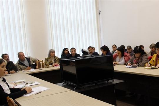 Состоялось первое заседание комиссии по подготовке и проведению Всероссийской переписи населения в 2020 году на территории города Шумерля
