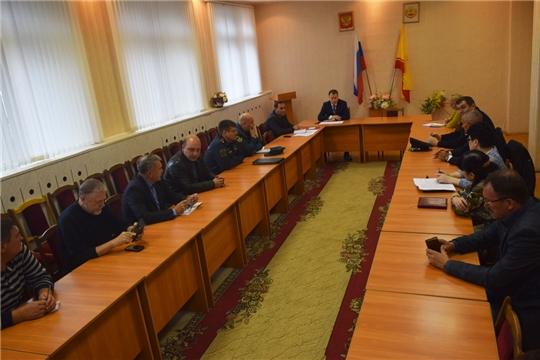 В Шумерле начался 1 этап Всероссийской командно-штабной тренировки по гражданской обороне
