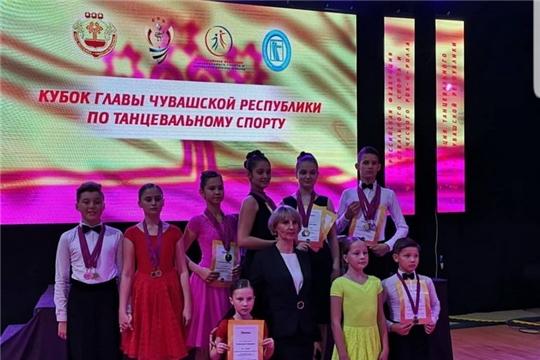 Шумерлинцы завоевали ряд наград в Открытом Кубке Главы Чувашской Республики по танцевальному спорту