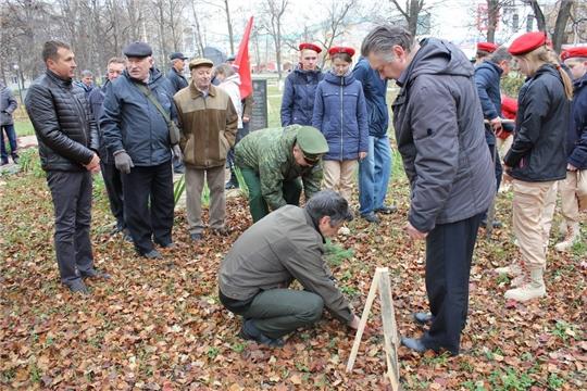 В Шумерле заложили Аллею памяти воинов-интернационалистов