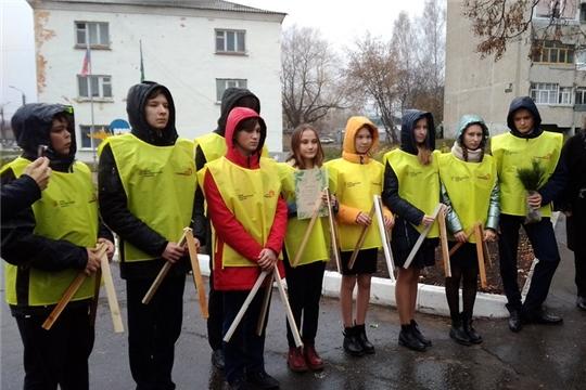 Волонтеры–наставники МБОУ «Гимназия №8» присоединились к проекту «Лес Победы»