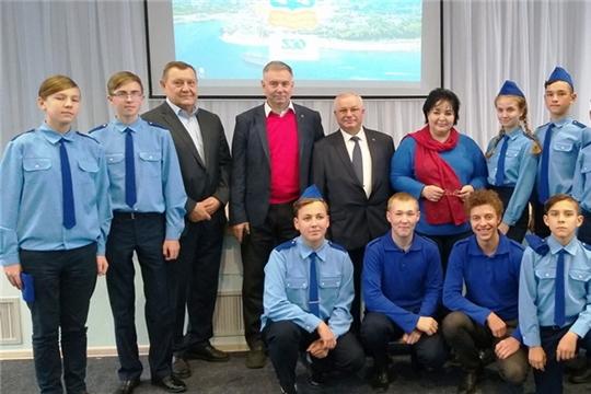 Гимназисты на Всемирной недели космоса в Чебоксарах