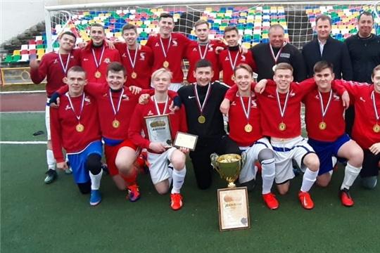 Шумерлинцы стали победителями Любительской футбольной лиги Чувашии - 2019