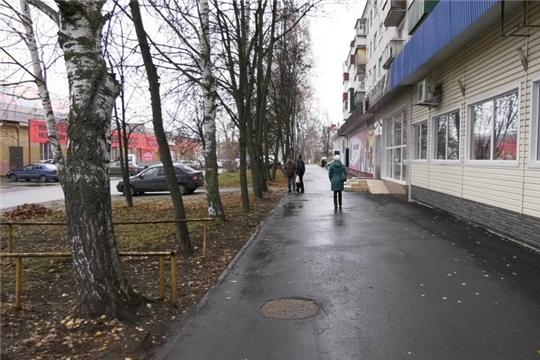 В Шумерле обновленные улицы и дворы радуют жителей города ровным новеньким асфальтом