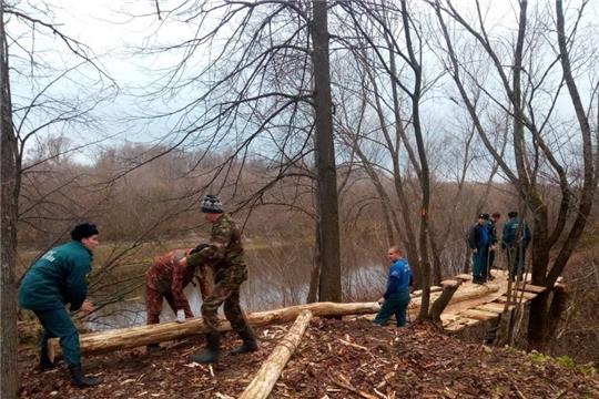 Сотрудники 23-й пожарной части города Шумерля приняли участие в реконструкции «Сурского рубежа»