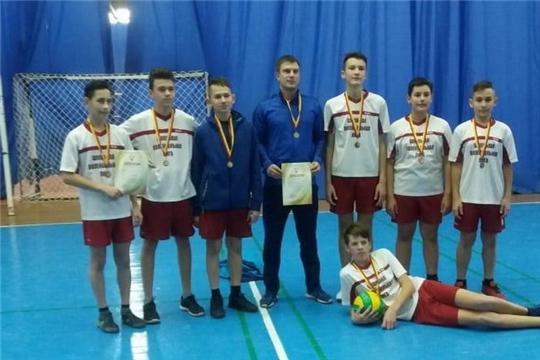 Шумерлинская команда ДЮСШ «Олимп» стала призером первенства  Чувашской Республики по волейболу