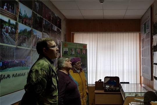 В школе №3 города Шумерля появилась Комната боевой славы