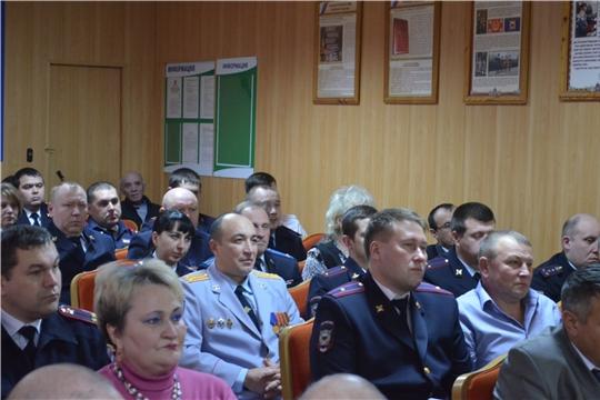 В Шумерле отметили День сотрудника органов внутренних дел