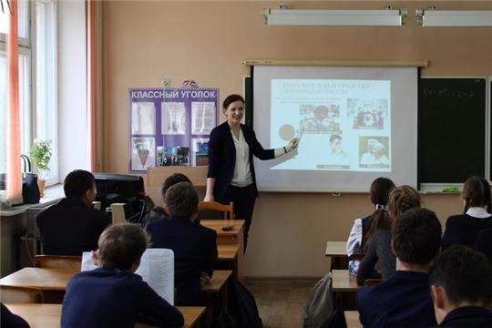 В Шумерле полным ходом идёт реализация проекта «Образовательная телевизионная программа «Пятиминутка»