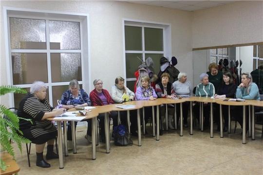 Состоялось расширенное заседание городского Совета ветеранов (пенсионеров) войны, труда и правоохранительных органов, посвященное подготовке к Году памяти и славы