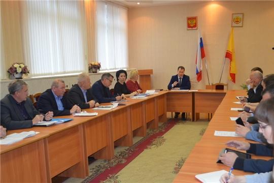 14 ноября в администрации города Шумерля прошел Круглый стол по актуальным вопросам жизнедеятельности города