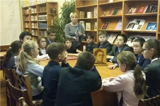 В честь юбилея поэта Михаила Сеспеля в библиотеках города Шумерля прошли тематические мероприятия