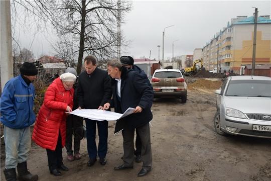 Глава администрации г.Шумерля А.Д.Григорьев проинспектировал ход строительных и ремонтных на социальных объектах города Шумерля