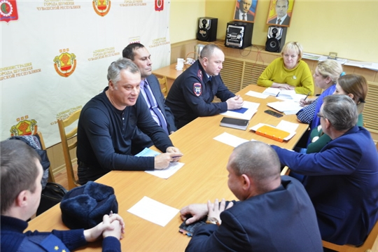 Об организации безопасности дорожного движения на территории города Шумерля шла речь на заседании профильной межведомственной комиссии