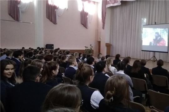 В МБОУ «Гимназия №8» г.Шумерля прошла акция «Добрые уроки»