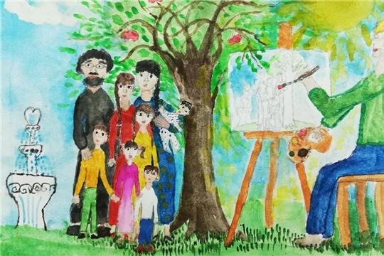 Юная художница в числе победителей Республиканского конкурса детского рисунка «Права человека – глазами ребенка»